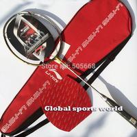 1 pc Free shipping Lining N80 Gold Badminton Racket,badminton racquet