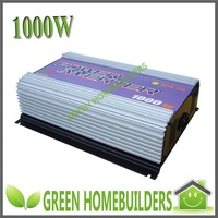 CE approved,input 22-60V,output 110V or 230V , 1000W Grid Tie  Solar Power Inverter Pure Sine Wave , MPPT function,stackable use