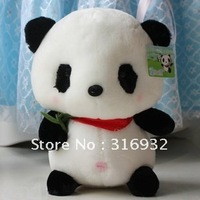 New arrival! Cute Stuffed Panda with Bamboo Soft Plush Toy 42cm, Free Shipping