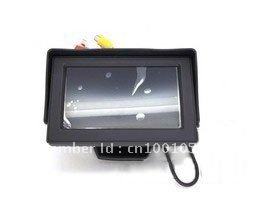 4.3inch TFT LCD Monitor Car Back up Camera Rear view System 2CH Video Input