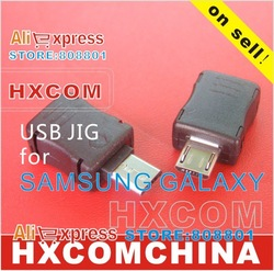 Bulk sale Micro USB dongle Jig for Samsung Galaxy S I9000 Sii I9100 S2, download mode, reset counter, module adaptor(China (Mainland))