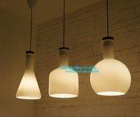 Free Shipping Creative Magic Bottle t Suspension Glass  Pendant Lamp Modern Pendant 1 Light