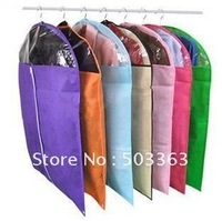 Free shipping bamboo charcoal dust-proof cover/clothes Dust Cover for clothes with Transparent window 10pcs