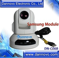 DANNOVO USB Video Conference Camera White Color Samsung10x10 Zoom PTZ Video Conferencing System Bulit-in Capture Card+Controller