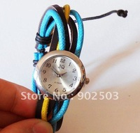 Retro Ethnic styles Watch,fashion watch,leather and cords bracelet,fashion bracelet