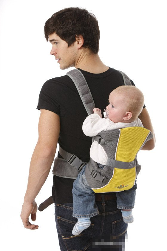 2012 HOT SALE baby gallus kids carrier gallus for safety A709 RED/yELLOW COLOR Free shipping(China (Mainland))