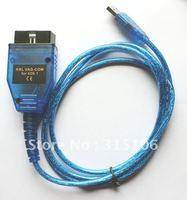 USB Car Diagnostic Interface OBD-II-2 KKL 409.1 OBD2 Cable VAG-COM for VW/AUDI