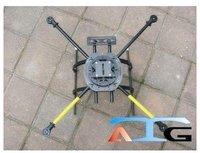 ATG L600 X4 Fiber glass Folding Frame Quadcopter Multicopter W/Tall landing skid