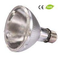24pcs/lot Free shipping 70w E27 PAR30 3000K/4k/5k/6k 10D/40D HQI lamp metal halogen light 1pc/lot fast delivery