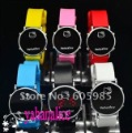 100% new brand colorfull Hello Kitty WATCH quality good watch digital watch free shipping  hot sell post fast
