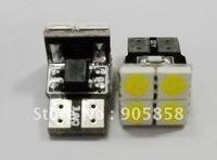 Wholesale - 50 pcs/Lot of Auto/Car T10 Canbus LED Bulb(T10-WG-4SMD ) 12V White 1.8 Watts White