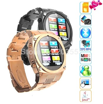 Free Shipping Music Watch phone TW818 ,Touching screen Watch Mobilephone Support 1.3M camera,Up to 16GB T Flash cellular phone