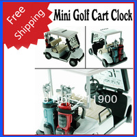 Free Shipping Mini Golf Cart Clock
