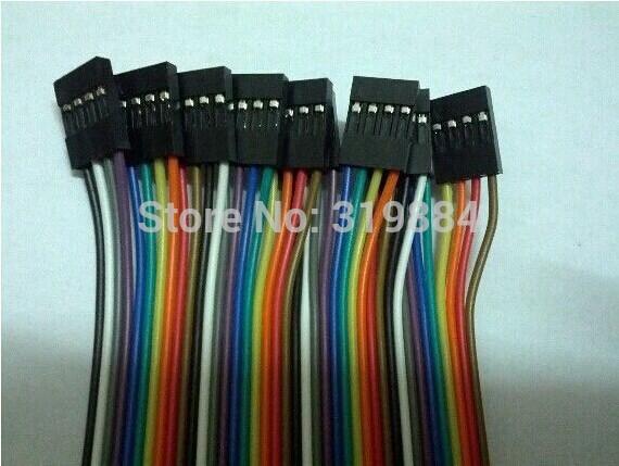 Электронные компоненты Bk 10 4pin Dupont 4p /4p 20 микрофонная стойка quik lok a344 bk