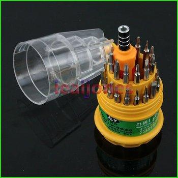 Professional 31 In 1 Screwdriver Set T3 - T15 H1.5 - H4.0 PH0 PH1 PH2 Mobile Phone PC Repair Kit Tools SP-006