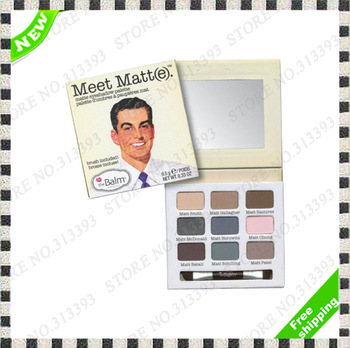Cosmetic Makeup 9 Colors Men Naked Eyeshadow Toilette Perfume Make up Nude Eye Shadow palette Vol4 FloralWhite Sets 1Pcs 1 pcs
