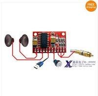 Mini Digital Amplifier Board USB Power Supply Input 5V Out dual 3W