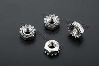500pcs/lot M3 Kep K nut Stainless steel