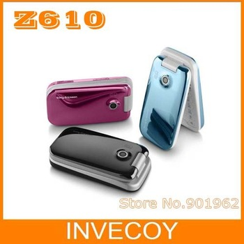 Unlocked Z610 original SONY Ericsson z610i unlocked cell phone bluetooth mp3 player freeshipping
