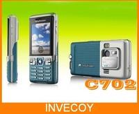 Brand C702 Original Sony Ericsson C702 Unlocked Cell Phone GPS 3G 3.15MP Unlocked Cell Phone Freeshipping