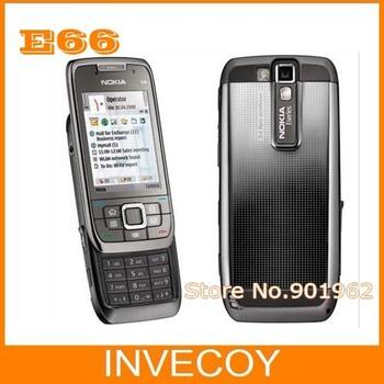 E66 Original Nokia E66 Unlocked Mobile Phone WIFI GPS 3.15MP Camera 3G freeship