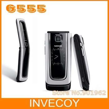 nokia 6555 Original nokia classic flip cell phone 6555 with freeship