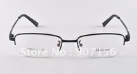 Hot Sale Semi-rimless Frame100% Quality Titanium Eye Glasses Eyewear like Silhouette Black/Gold/Silver