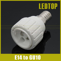 E14 to GU10 LED Halogen CFL Light Bulb Lamp Socket Adapter Holder Converter , free shipping