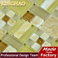 [KINGHAO] Supply Mosaic Wholesale Gold Mirror mosaic Mix  Diamond K00237