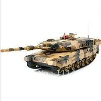 free shipping Charging large tank car model Chinese master tank can battle children toy tank car