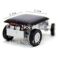 Solar toys solar energy car toys silver color 22g DHL FEDEX free shipping wholesale 100pcs