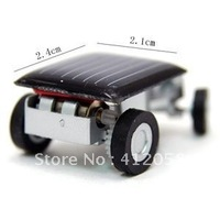 wholesale 100pcs Solar toys ,solar energy car toys silver color 22g DHL FEDEX free shipping