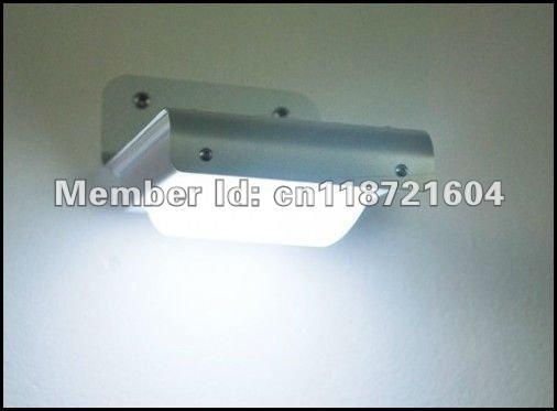 4шт/много солнечных лучей открытый звуковой датчик света, датчик звука 16led настенные светильники для освещения сада/двор