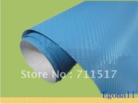 Cight Blue Car Carbon Fiber Vinyl Sticker 3D Molding Film Carbon Fiber Sheet Carbon Fiber sticker