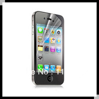 1000pcs/lot for iphone4 iphone 4 film guard clear screen protector for 4G iphone4S without retail package wholesale