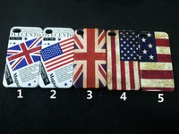 Free shopping,flag case for iphone4/4s