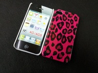 Free shipping,leopard zebra  case for iphone4/4s