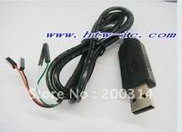 1PCS ,PL2303,USB to UART TTL USB to COM Cable module PL2303HX Converter& Free shipping