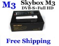 Original Skybox M3 sky box M3 mini Satellite receiver Full HD 1080P DVB-S DVB-S2 MPEG4 PVR CCCAM Post Free Shipping 1pcs