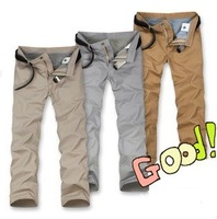 2014 Amoi new thin and light cotton casual trousers, man casual pants Free Shipping-122