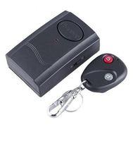 Wireless IR Remote Control Micro-Vibration Triggered Door/Window Alarm