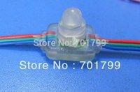 RGB full LED pixel module (WS 2811IC) ;DC5V input,50pcs a string;IP67