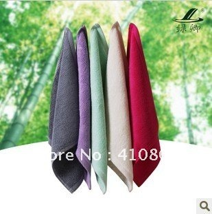 100% pure bamboo fiber small hand towel, baby towel, hairdressing towel, free shipping(China (Mainland))