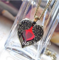 Min Order $15  Free Shipping Fashion Jewelry Trend Jewelry Fashion Necklaces Precious Heart Pendant necklace Female's necklace