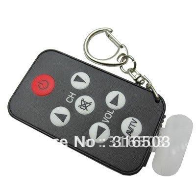 20pcs/lot Universal AV TV Remote Controller Keychain Keyring(China (Mainland))