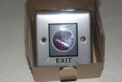 Infrared Touchless Exit Button (Stainless steel) Sensor No touch Exit Sensor Release Button(China (Mainland))