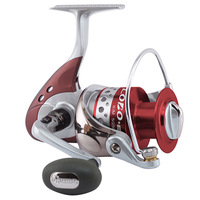 Free shipping, OKUMA  LOBO+E Series,  6+1BB, LO-4000, Spinning Fishing Reel