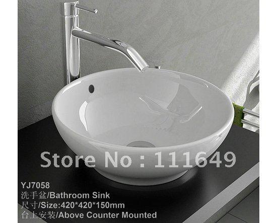 Kosten Totale Badkamer ~ 7058 badkamer keramische klein aanrechtblad wassen de hand kom