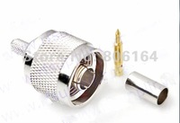 5pcs N male connector for LMR195 RG58 cable pigtail