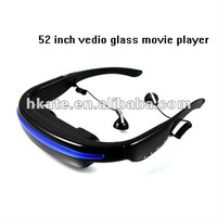5pcs Mobile Theatre cinema Video Glasses Movies on 52 Inch Virtual Screen with Built in 2gb memory 2012 Newest ATG52 free dhl